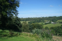 View from Eastcott Barn